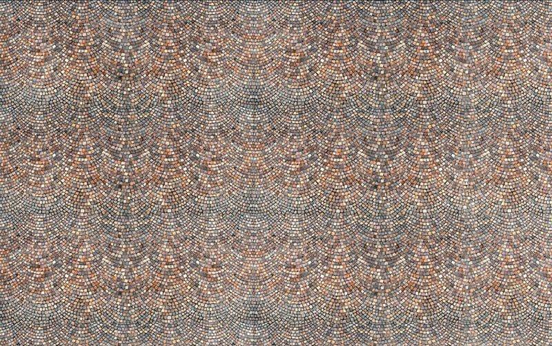 Römisch Pflaster Mauerplatte, 3 Stück 31x21 cm, Spur H0