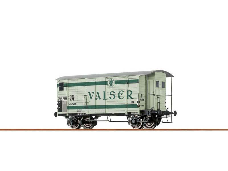 Gedeckter Güterwagen K2 der SBB, III, Valser, Spur N