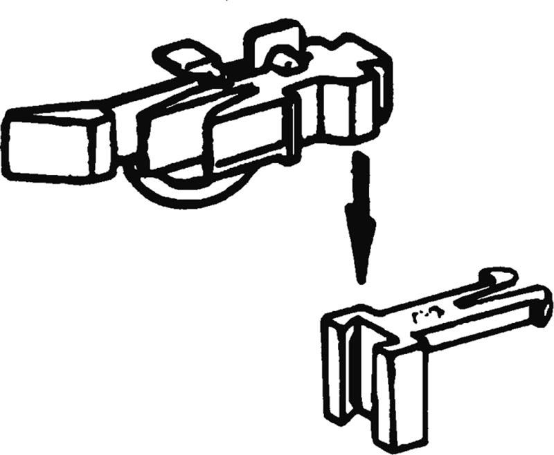 Kurzkupplungsköpfe, höhenverstellbar H0