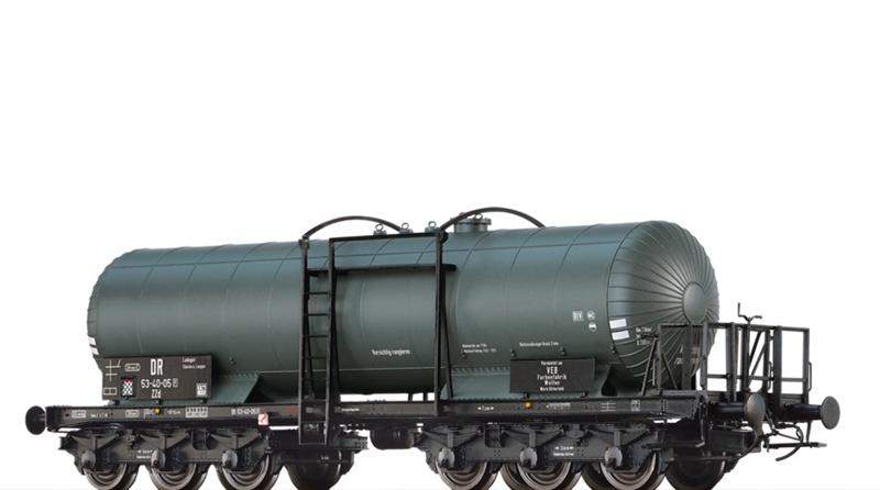 Kesselwagen ZZd [P], DR, III, Farbenfabrik, DC, Spur H0