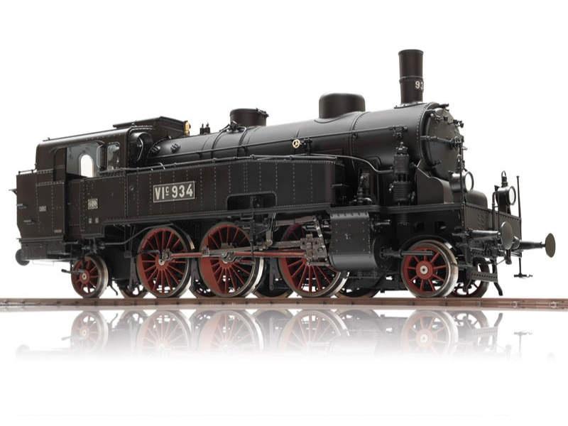 Tender-Dampflokomotive VIc BadStB Sound mfx Spur 1