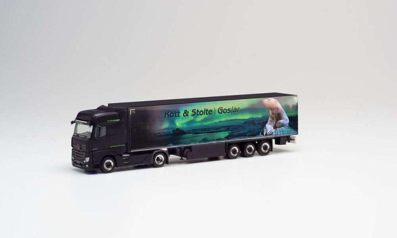 Mercedes-Benz Actros Bigspace Kühlkoffer-Sattelzug, H0