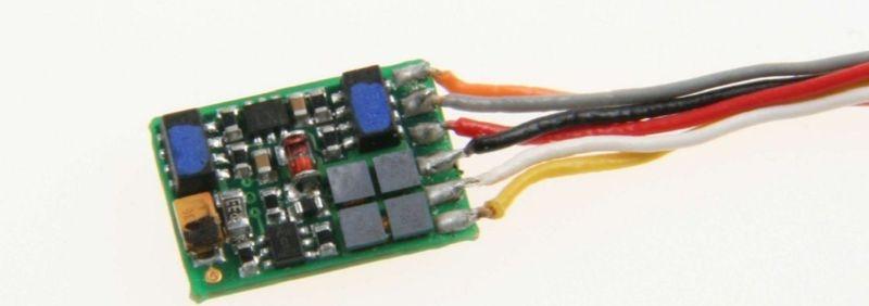 ID2 Minidecoder mit Litzen, DCC, geeignet für N, TT, H0e&H0m