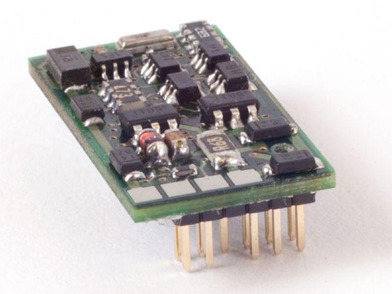 Lokdecoder Silver+ PluX-12, NEM 653 Schnittstelle