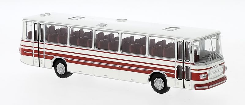 MAN 750 HO weiss, rot, 1967, 1:87 / Spur H0