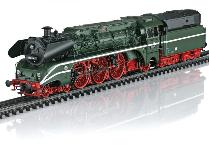 Dampflokomotive Baureihe 02 der DR, Sound, mfx+, AC, Spur H0