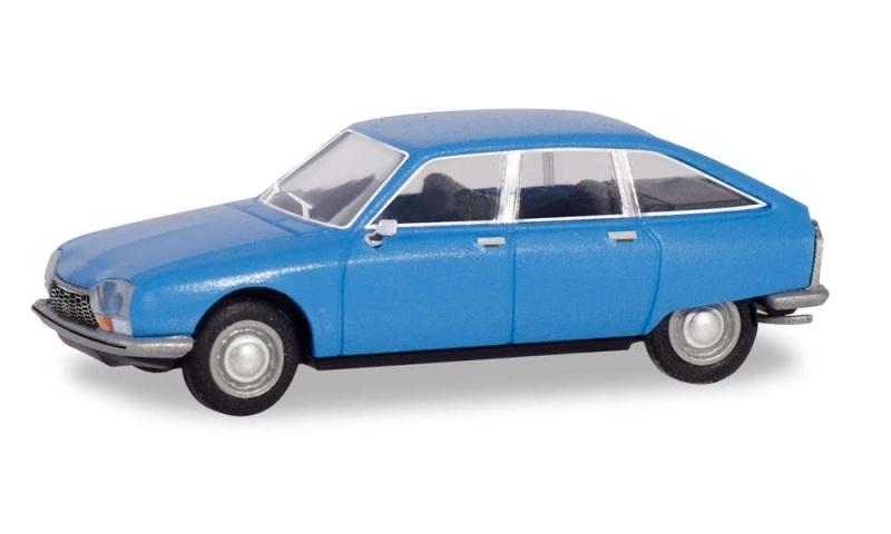 Citroën GS, hellblau, 1:87 / Spur H0