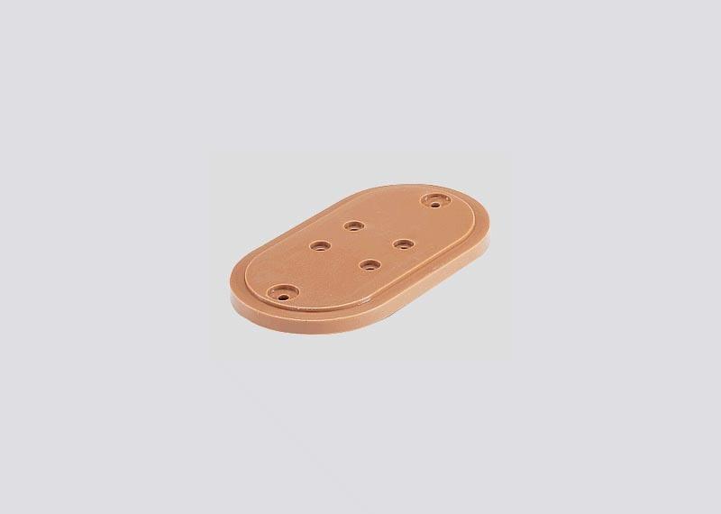 Unterlegplatte 3 mm für Brücken H0