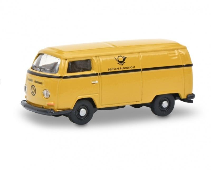 VW T2a Kastenwagen Deutsche Bundespost, gelb, 1:87