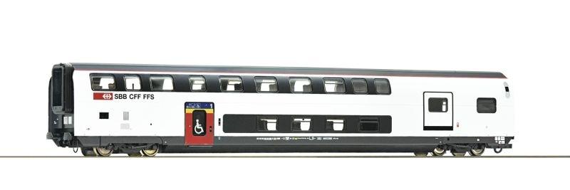 Doppelstockwagen IC 2020 1.Kl. mit Gepäckabteil, SBB, DC, H0