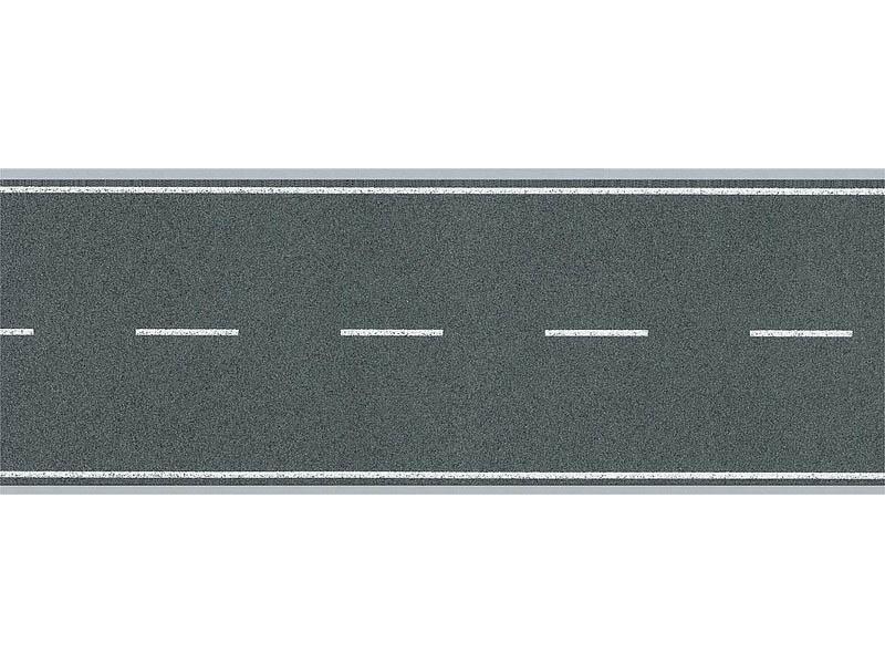 Straßenfolie 1000 x 80 mm H0