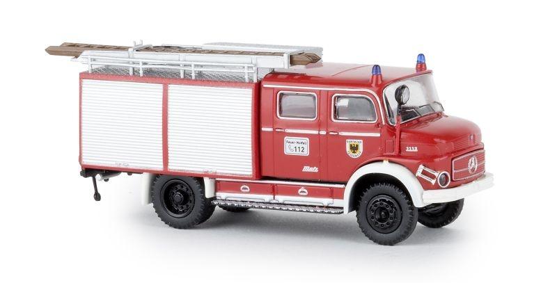 Mercedes LAF 1113 TLF 16 Sondermodell Feuerwehr Dortmund, H0