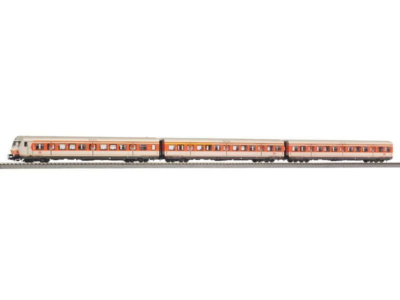 3er Set x-Wagen S-Bahn mit Steuerwagen DB AG V, DC, H0