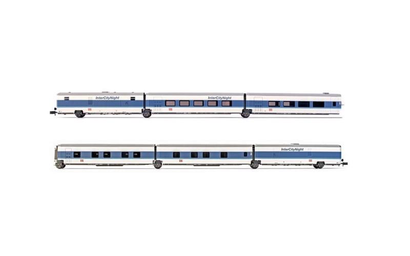6-tlg. Grundset, Talgo InterCityNight DB AG, Ep.V, Spur N