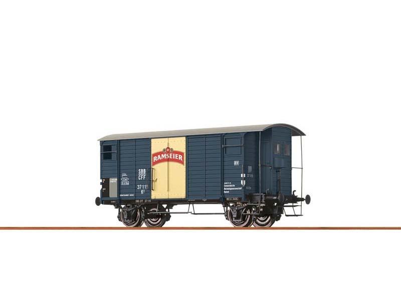 Gedeckter Güterwagen K2 der SBB, III, Ramseier, Spur N
