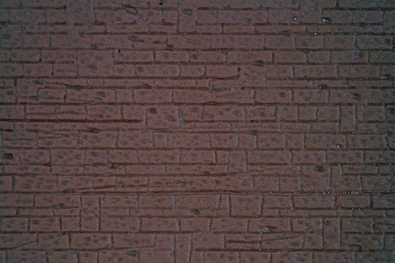 Mauerplatte regelmäßig, 20 x 12 cm, Spur N
