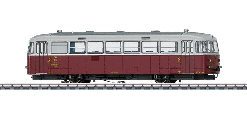 Schienenbus-Motorwagen Z 161 VT 95.9 der CFL, DCC, mfx+, H0