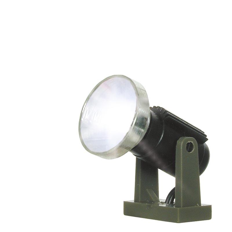 Flutlichtstrahler nieder, LED weiß, Spur N