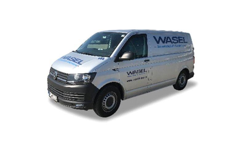 VW T6 Transporter Wasel Krane, 1:87 / H0