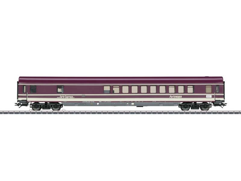 Partywagen Euro Express WGmh 804/854 mit Sound mfx H0