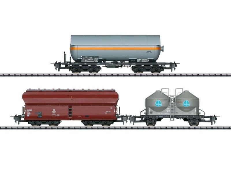 Wagen-Set Güterverkehr DB Express H0