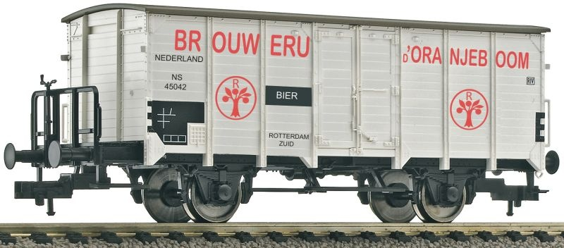Bierwagen BROUWERIJ ORANJEBOOM der NS, DC, H0