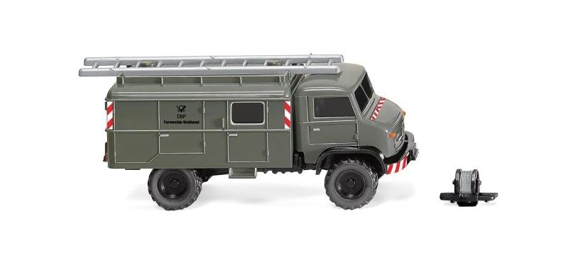 Unimog S 404 Fernmeldedienst, 1:87 / Spur H0