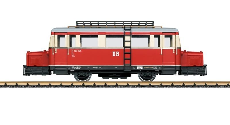Schienenbus der DR, mfx, DCC, Spur G