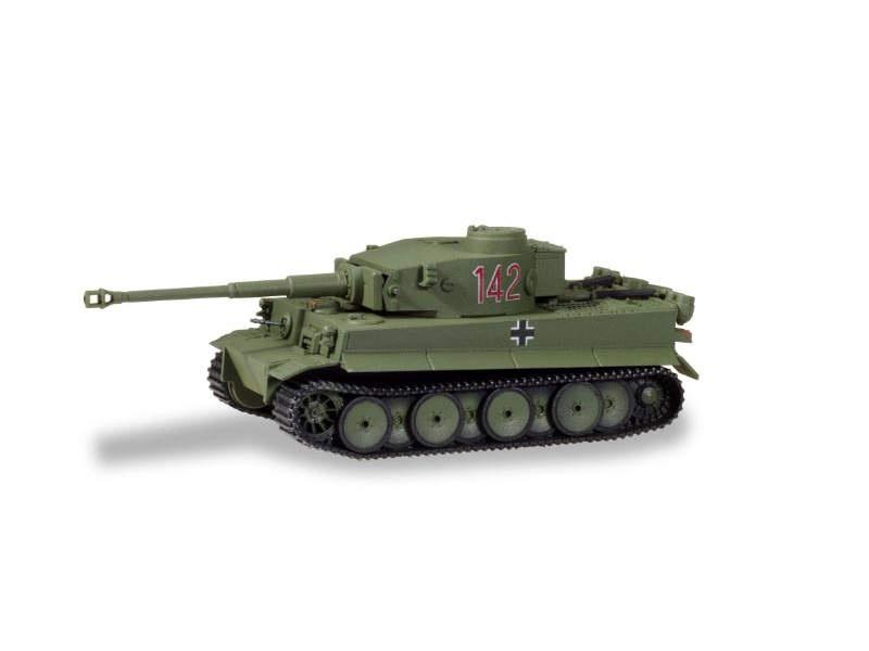 Panzerkampfwagen Tiger Ausf. H1, dekoriert, Tunesien, 1:87