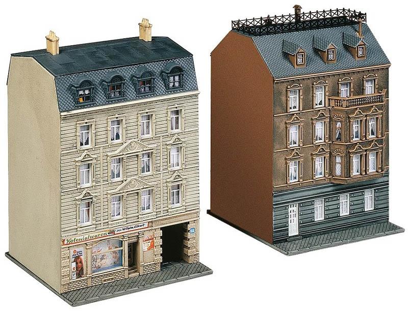 2 Stadthäuser Bausatz N