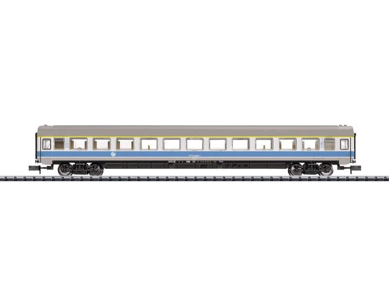 Schnellzugwagen 2. Klasse MIMARA der HZ, Minitrix Spur N
