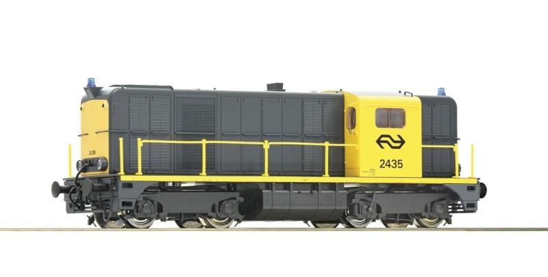 Diesellokomotive Serie 2435 der NS, Sound, DC, Spur H0