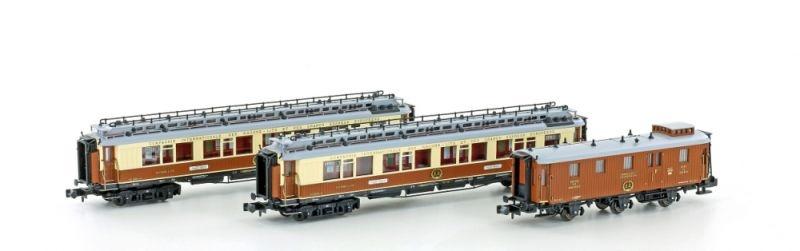 Personenwagenset CIWLMéditerranée-Express, Set 1, Spur N