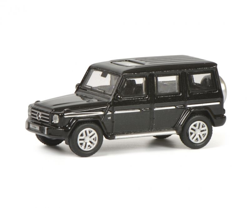 Mercedes-Benz G-Modell, schwarz metallic, 1:87 / Spur H0