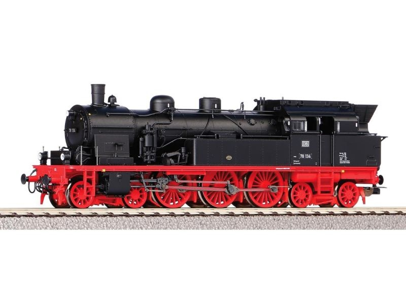 Dampflok BR 78 der DB, Ep. III, DC, Spur H0