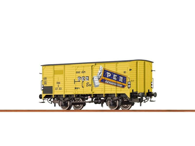 Gedeckter Güterwagen G10 der ÖBB, III, PEZ, H0