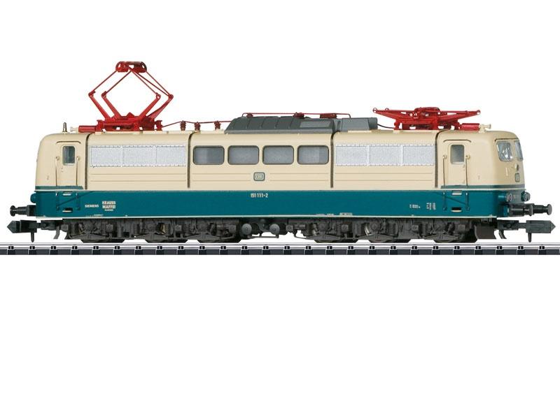 E-Lok BR 151 der DB, Sound, mfx, DCC, Minitrix Spur N