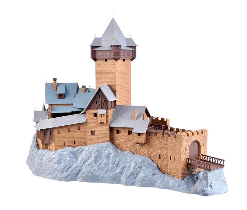 Burg Falkenstein in Kärnten, Bausatz, Spur H0