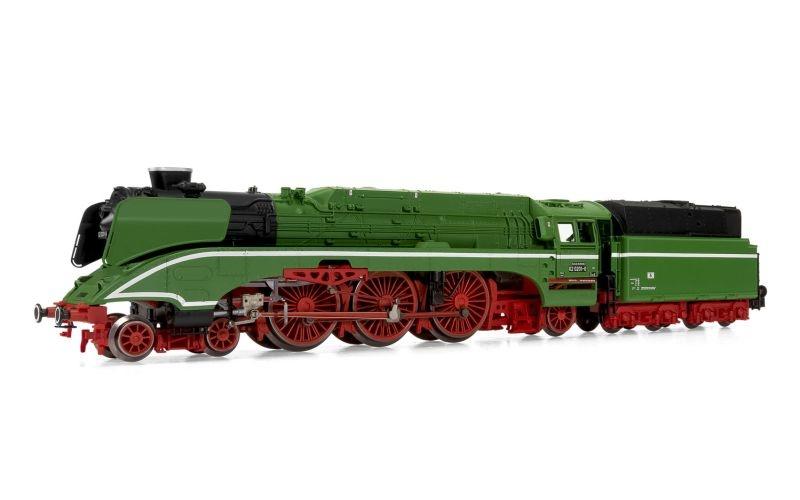 Dampflokomotive 18 201 hellgrün, mit Öltender, Spur N
