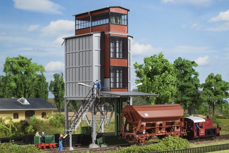 Getreidespeicher, Bausatz, Spur H0