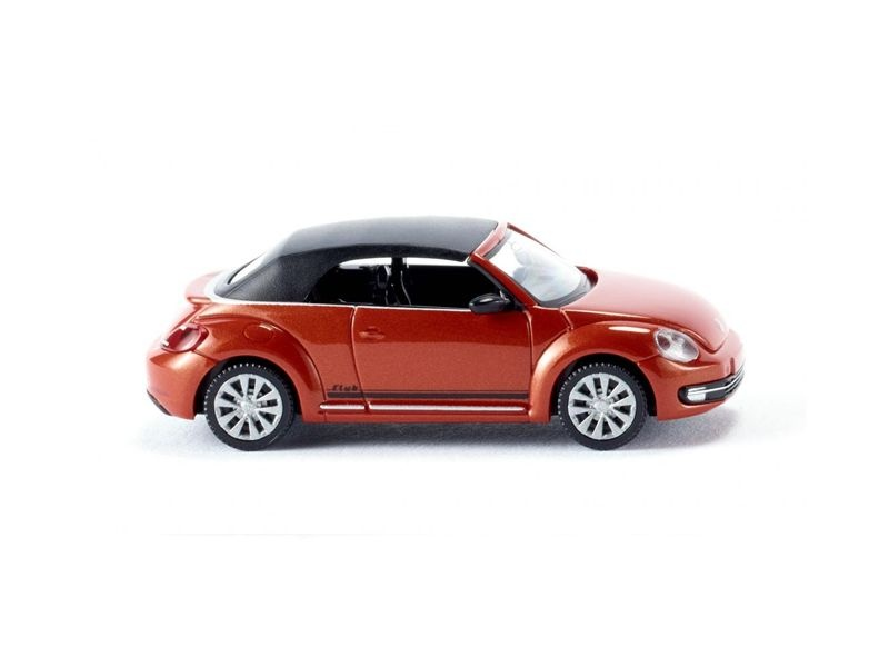 VW The Beetle Cabrio (geschlossen) habanero orange 1:87 / H0