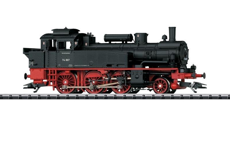 Dampflok BR 74 der DB, Sound, mfx, DCC, DC, Spur H0
