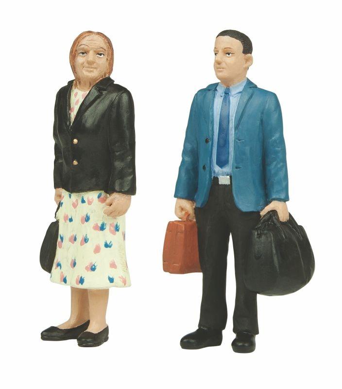 Stehende Passagiere, Figuren, Spur G