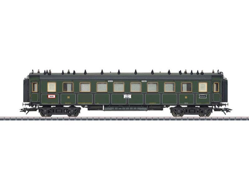 Schnellzugwagen CCü 3. Klasse K.Bay.Sts.B. H0
