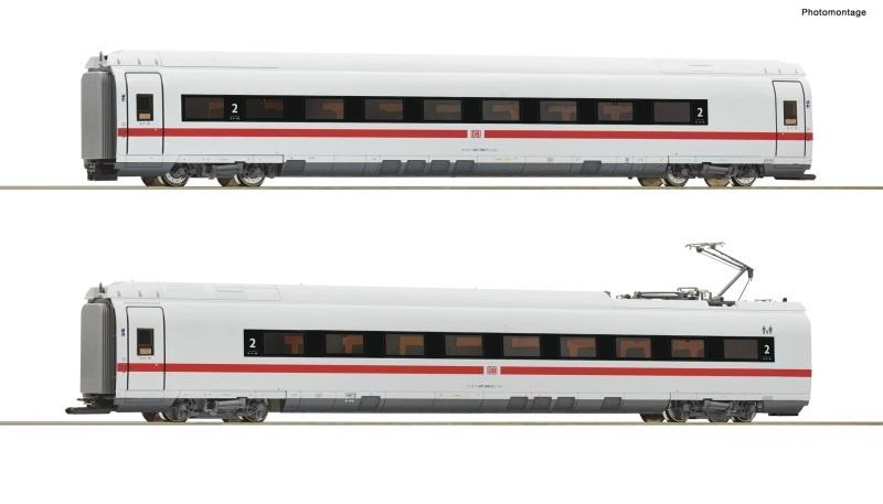 2-tlg. Set 2: Zwischenwagen ICE 3 (BR 407), DB AG, DC, H0