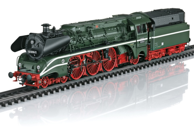 Dampflokomotive Baureihe 02 der DR, Sound, mfx, DC, Spur H0