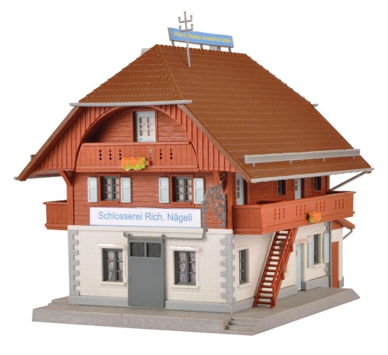 Schlosserei Nägeli Bausatz, Spur H0