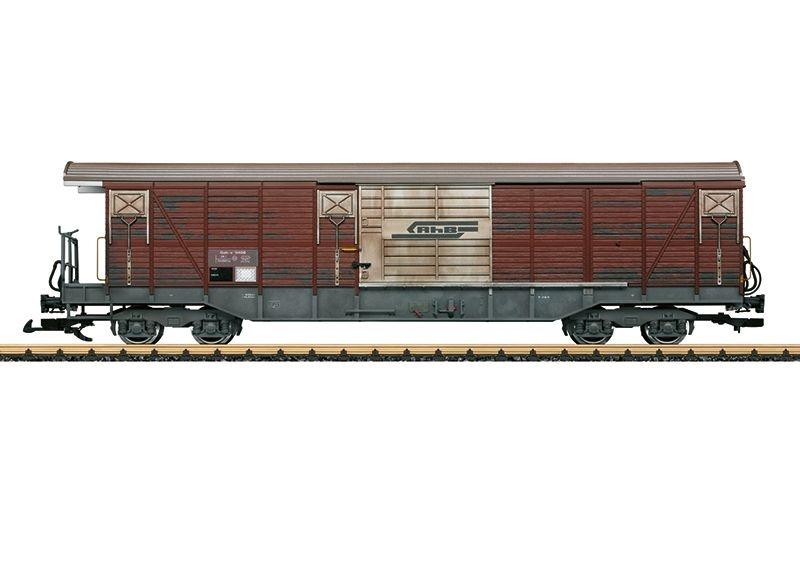 Gedeckter Güterwagen Gak-v der RhB, Epoche IV, Spur G