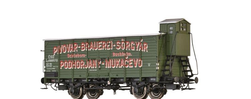 Bierwagen LP Pivovar Brauerei der CSD, Epoche II, Spur H0