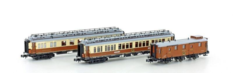 Personenwagenset CIWLMéditerranée-Express, Set 2, Spur N
